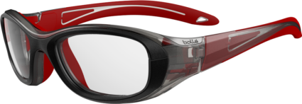 Bolle Coverage 52 Medium Eyeglasses | Red & Black