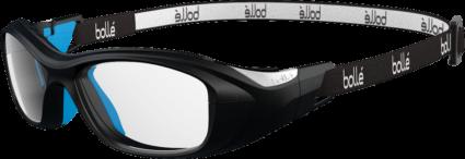 Bolle Swag 53 Strap Eyeglasses - Black & Electric Blue