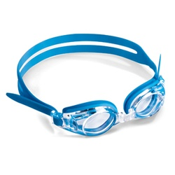 Junior Prescription Swimming Goggles Blue
