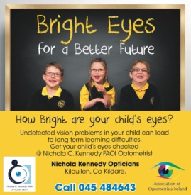 WHAT DOES YOUR CHILD SEE AT SCHOOL? Does he/ she need an eye test.